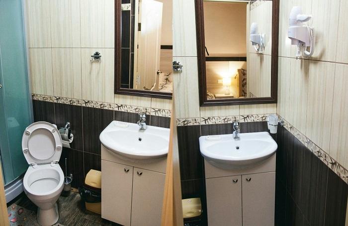 Ванная комната в Zen Hotel Керчь