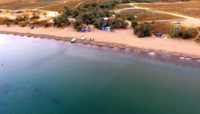 Фото Кемпинг Тихой бухты в Крыму