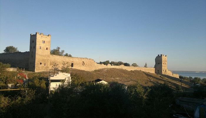 фото Генуэзская крепость в Феодосия