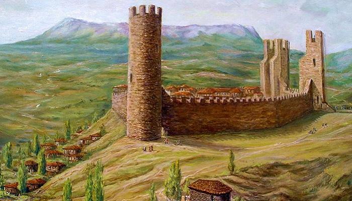 фото крепость Алустон в Алуште
