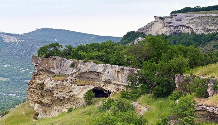 фото пещерный город Бакла