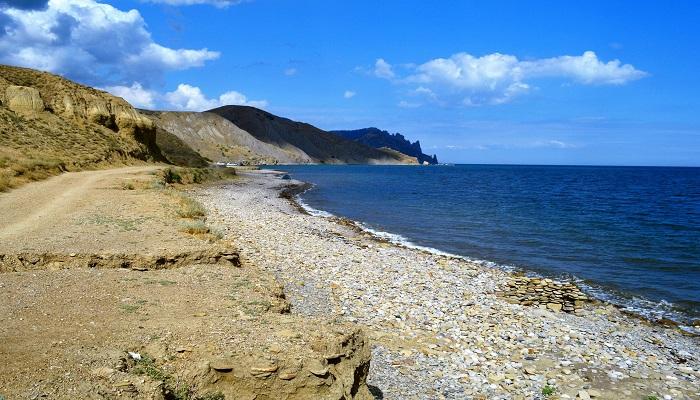 Фото Лисья бухта галечный пляж