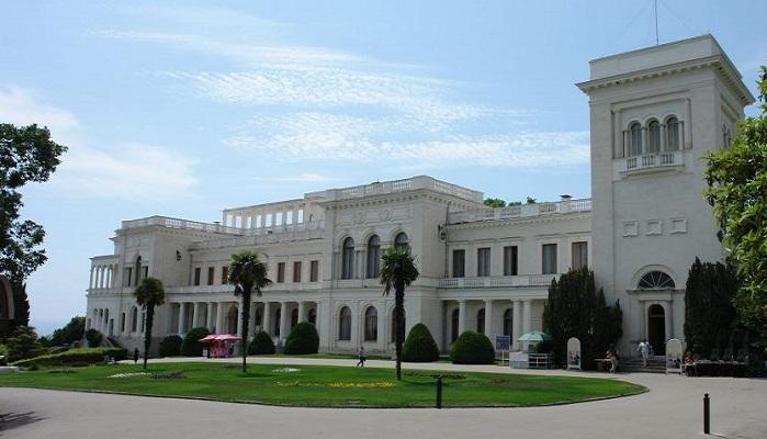 Фото Фасад Ливадийского дворца