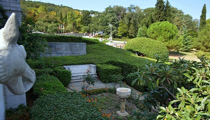 Фото Парк Ливадийского дворца