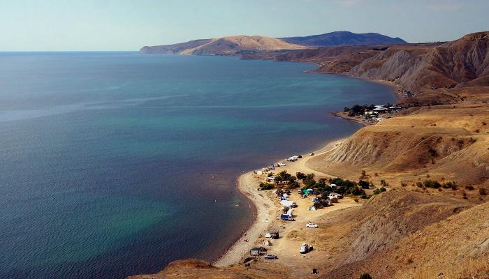 Пляжи Лисьей бухты Крым
