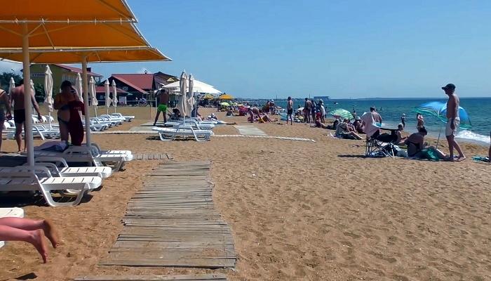 Золотой пляж Феодосия