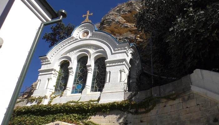 Часовня Свято-Георгиевского монастыря Фиолент Севастополь