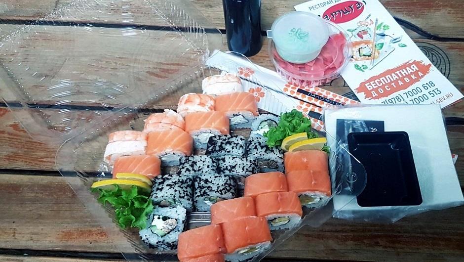 Доставка суши ресторана Самурай Севастополь