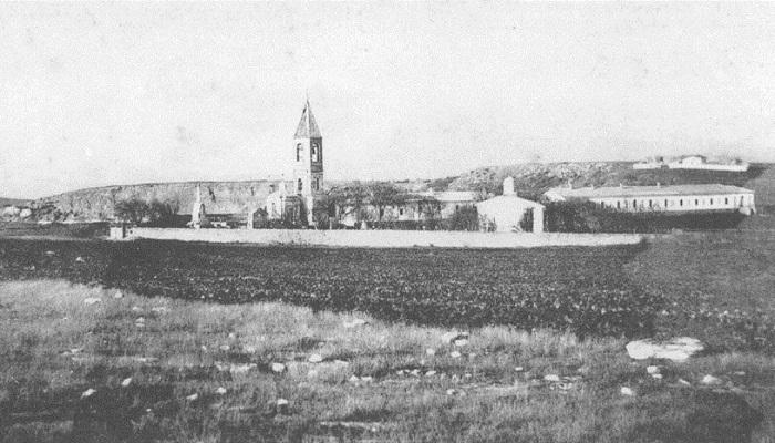 Георгиевский монастырь с восточной стороны в Севастополе