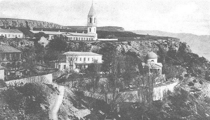 Старые фото Георгиевский монастырь в Севастополе