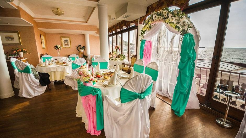 Свадьба в ресторане Приморский бульвар Севастополь