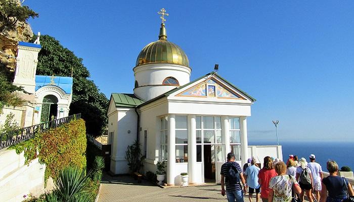 Свято-Георгиевский храм при монастыре Севастополь