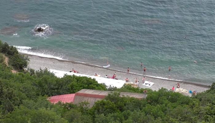 Яшмовый пляж близ Георгиевского монастыря Фиолент
