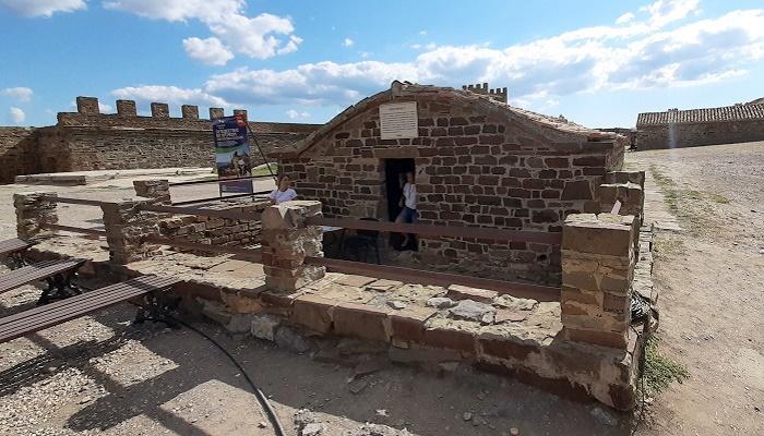 Цистерна для воды Судакской крепости