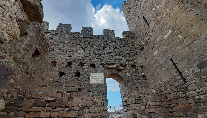 Георгиевская башня Судакской крепости