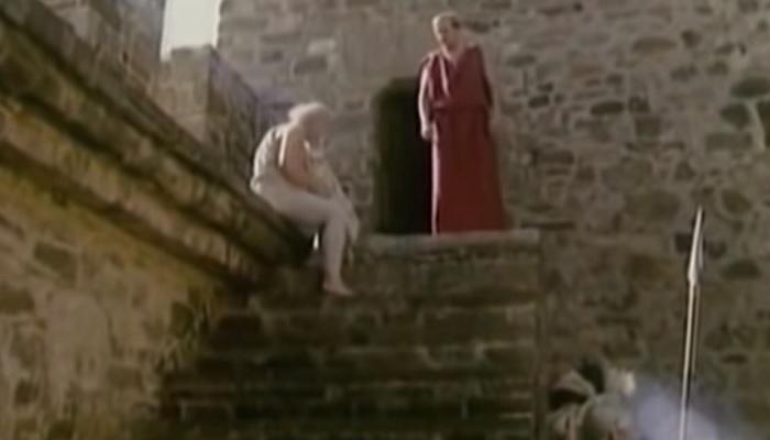 Кадр из фильма Сократ в Судакской крепости