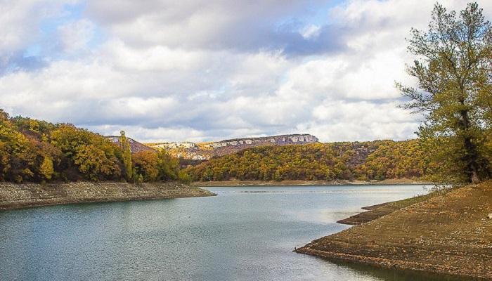 Крымская Швейцария Партизанское водохранилище