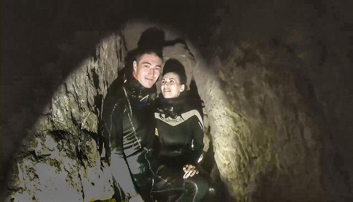 Подводная пещера Фиделя в Новом Свете