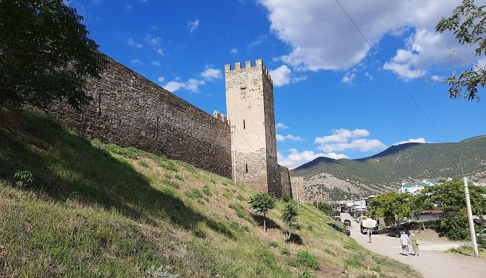 Судакская крепость в Крыму