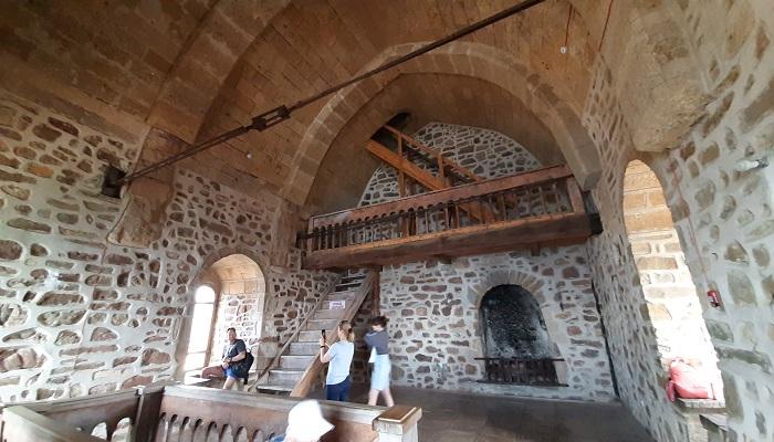 Третий этаж в Консульском замке Судакской крепости