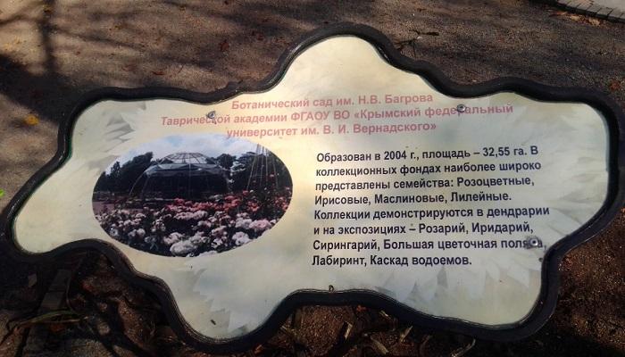 Достопримечательности Крыма Ботанический сад Симферополь