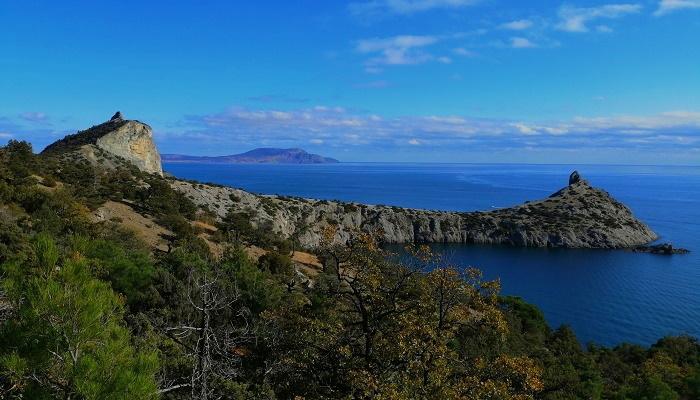 Достопримечательности Крыма бухты Нового Света