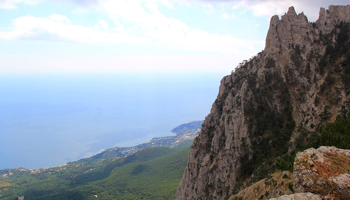 Достопримечательности Крыма гора Ай-Петри