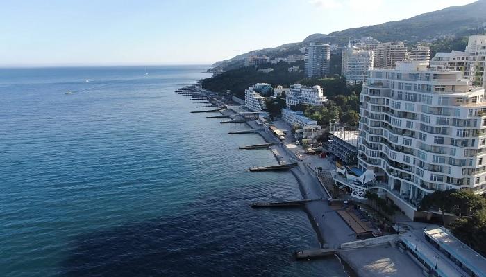 Пляжи Ялты Крым