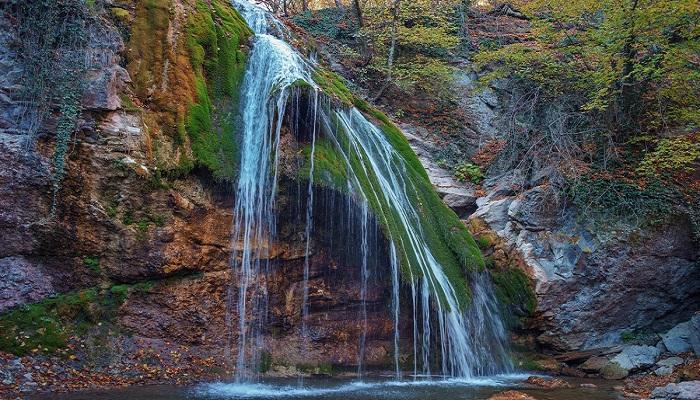Фото Водопад Джур-Джур Крым