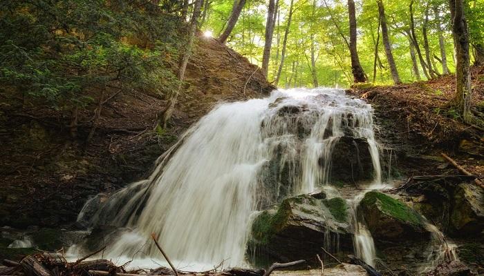 Фото Водопад Головкинского в Алуште