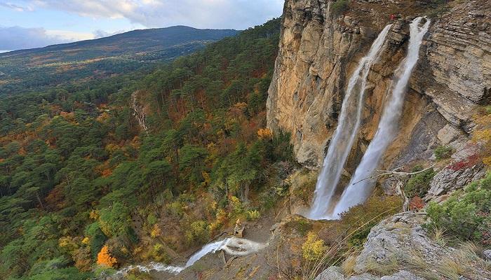 Фото Водопад Учан-Су Крым