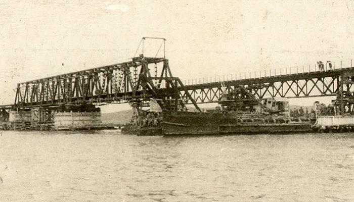 Мост через Керченский пролив 1944 год