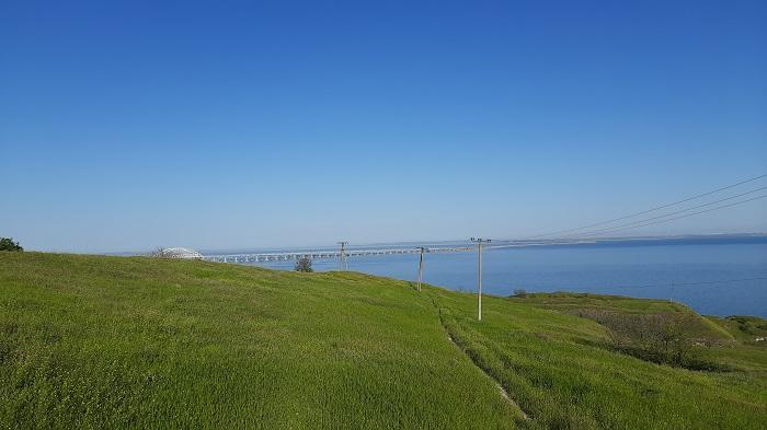 Природа берега Керченского пролива