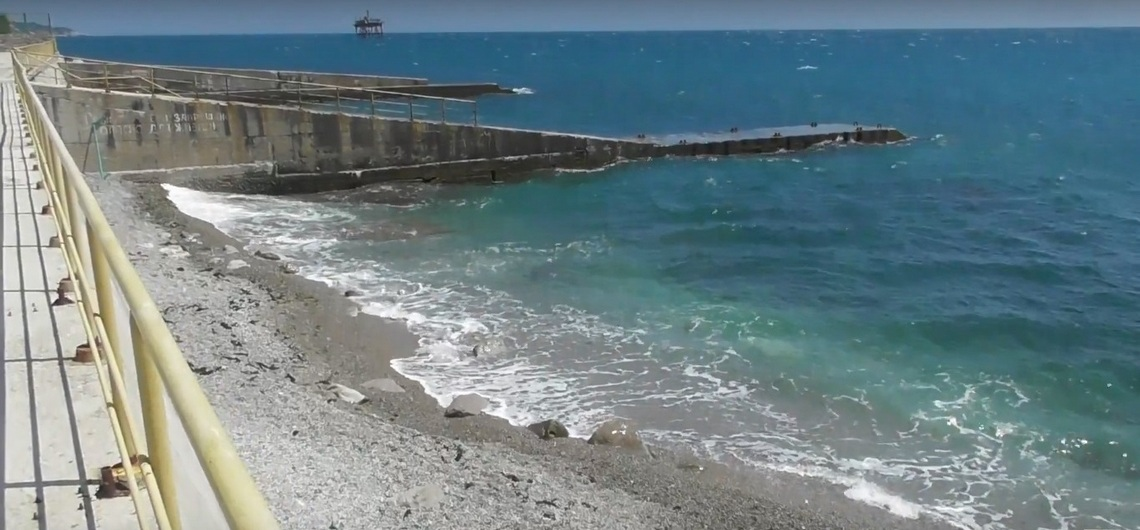 Пляжи Кацивели