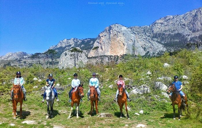 Конные прогулки в Алуште