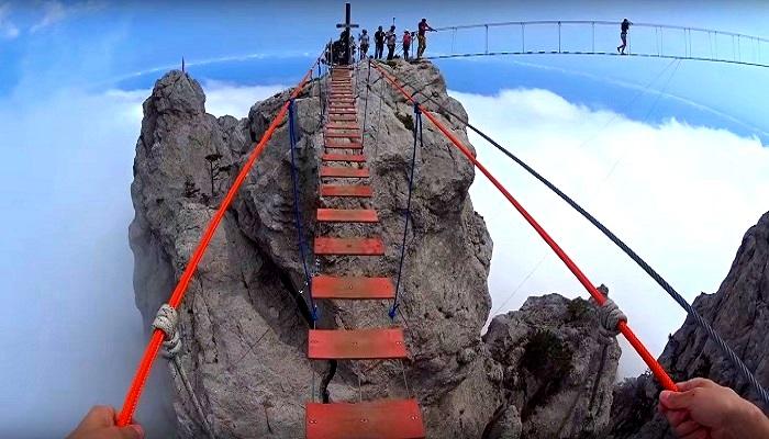 Фото Подвесные мосты на Ай-Петри