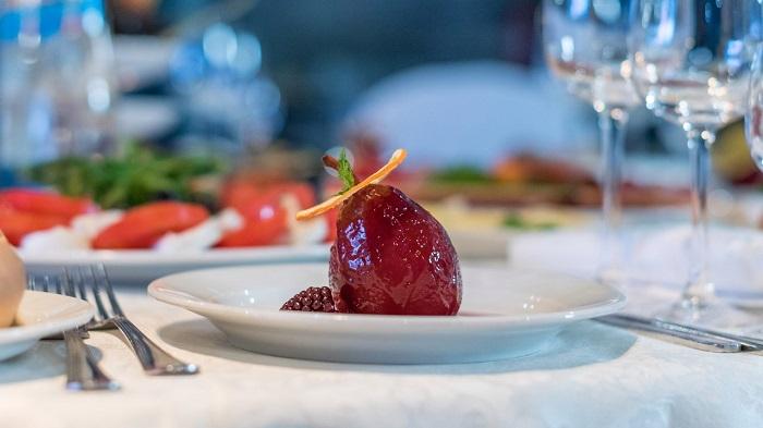Десерт в ресторане Ай-Петри Ялта