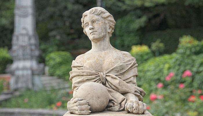 Скульптуры Массандровский парк Крым