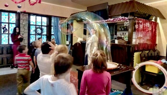 Детский праздник Траттория Папа Карло Ялта